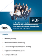 21-Woelfl-SCOR Demand Planning - A Revolutionary Method to Do Manufacturing Demand Forecasting With SVM - Support Vector Machines