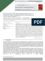 El síndrome de liberación de citoquinas (CRS) del COVID-19 severo