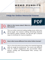 Course FAQs