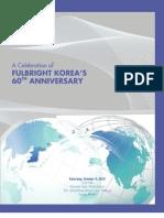 60th Anniversary Event Program