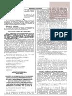 Decreto de Urgencia N° 059-2020
