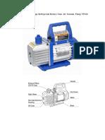 VP160 Vacuum Pump