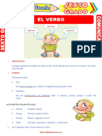 Ejercicios-del-Verbo-para-Sexto-Grado-de-Primaria