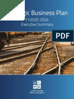 Strategic Business Plan Executive Summary