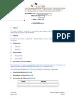 Plantilla para documentar procedimientos