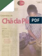 CERAMISTAS DE CHÃ DA PIA - por Carlos A Azevedo -Jornal A Uniao 02nov05 Joao Pessoa, Paraiba