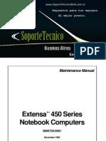 Service Manual -Acer Extensa 450sg
