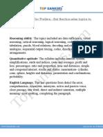 SBI PO Syllabus PDF