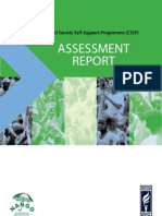 Civil Society Capacity Assessment Report