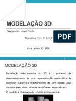 Apresentação 1- Modelação 3D
