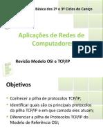 Aula 02 - Revisao Modelo OSI e TCP_IP