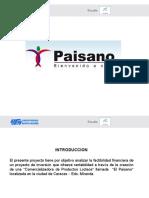 Presentacion Proyecto El Paisano