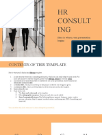 HR Consulting by Slidesgo