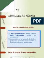 Presentación TEMA 1 lógica