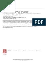 Social Entrepreneurship - A critique and future directions - Dacin 2011