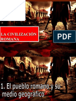 La Civilizacion Romana
