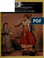 Montesquieu, Charles de Seconda - Persian Letters -