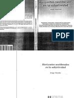Horizontes neoliberales en la subjetividad - Jorge Aleman.pdf