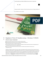 Pi-Zero-W-Windows-10-RNDIS-Driver