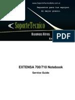 Service Manual -Acer Extensa 700_710sg