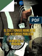 El cuestionado manejo de los recursos públicos en medio de la pandemia