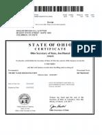 Green Investments LLC Filing Documents
