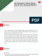 Sesion 12 - Interes Compuesto a Tasa de Interes Efectiva - Ecuaciones de valor - Descuento Bancario (1)