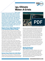 Nuclear Energy, Climate Change and Water