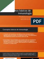 Conceptos básicos de  inmunología ana