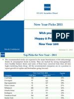 New Year Picks 2011