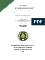 DEFFRY APRIALDY_NIM 190522030 Tugas Resume Ruang Lingkup Audit Fungsi Pengadaan