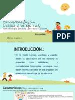 Informe Psicopedagógico Evalúa 2 versión 2 finalllll