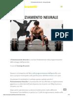 Il Potenziamento Neurale