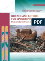 SCIENCE AND ACTIONS FOR SPECIES PROTECTION Noah's Arks for the 21st Century