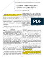 1 Validating the Instrument for Measuring Brand Equity in Indonesian Fuel Retail Brand
