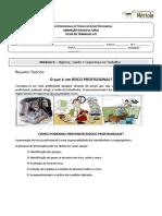 Ficha de trabalho n2Riscos Profissionais