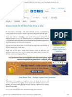 Business Models for MW Solar Power Plants in India - Solar Mango – #1 guide for solar