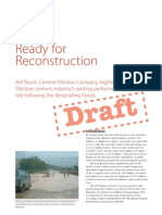 Pakistan Cement Industry - Ready for Reconstruction