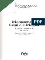 Manuscrisele Rosii ale Magiei. Blesteme stravechi Vol.1 - Cassandra Clare