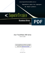 Service Manual -Acer Travel Mate 290sg