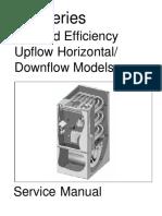 """Nordyne Furnace """"g6 Series"""" Service Manual"""