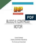 Bloco II - Controle Motor (parte 1)