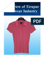 Overview of Tirupur Knitwear Industry