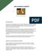 Manual de Elaboración de Conservas