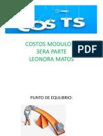 MODULO 3. 3 ERA PARTE PUNTO EQUILIBRIO