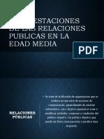 El surgimiento de las relaciones publicas