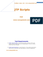 QTP Scripts for Flight Reservation