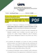 Tarea 1 Ealuación del desempeño Luis Vargas 17-0057