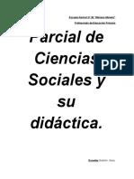 Fundamentación del Área de Ciencias Sociales