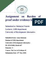 Burden of proof.docx
